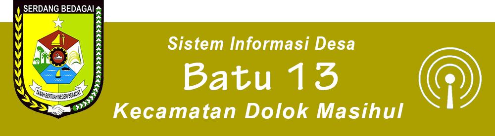 BATU 13